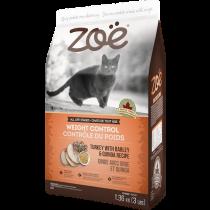 Zoe Cat Weight Control Turkey with Barley & Quinoa - 1.3kg