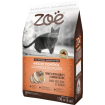 Zoe Cat Weight Control Turkey with Barley & Quinoa - 2.5kg