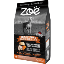 Zoe Dog Grain Free Turkey with Pumpkin & Russet Potato 2kg