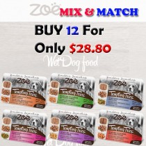 ''Zoe Dog Pate Wet Food Mix & Match BUY 12 FOR ONLY $28.80