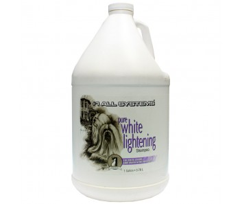 #1 All Systems Pure White Lightening Shampoo' - 1 Gal