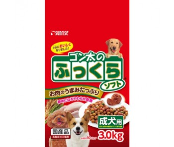 Sunrise Semi-Moist Food Chicken Adult - 3.0kg
