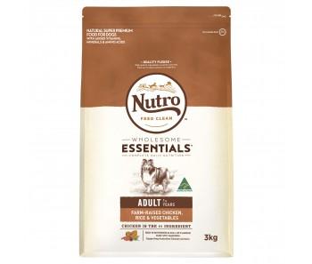 Nutro Dog Wholesome Essentials Adult Chicken, Rice & Vegetables - 3kg