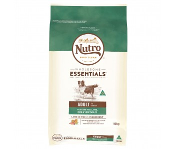Nutro Dog Wholesome Essentials Adult Lamb, Rice & Vegetables - 15kg