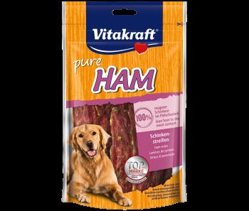 Vitakraft Dog Treats Pure Ham Stripes 80g