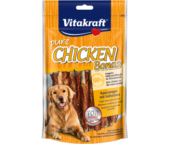 Vitakraft Dog Treats Pure Chicken with Bone 80g