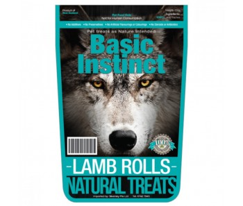 Basic Instinct Lamb Rolls 150g