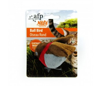 All For Paws - Natural Instinct Ball Bird - 4 Assorted