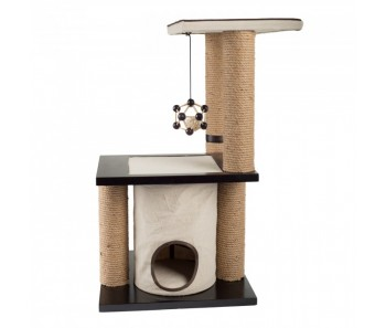 All For Paws - Classic Comfort Two Level Climb and Play Scratcher