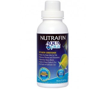 Nutrafin Aqua Plus - Tap Water Conditioner - 250 ml (8.4 fl oz)