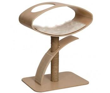 Vesper Cat Furniture V-High Lounge 70x50x96cm - Available in Walnut & Poplar colour