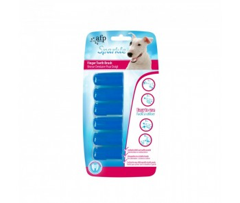 All For Paws - Sparkle Dental Finger Brush 6 pack