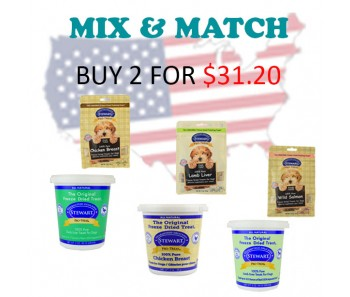 'Stewart Pro-Treat® Tub & Pouch 3 oz - Buy 2 for $31.20