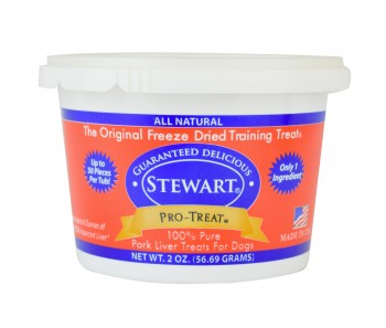 Stewart Pro-Treat® Freeze Dried Pork Liver Tub - 2 oz