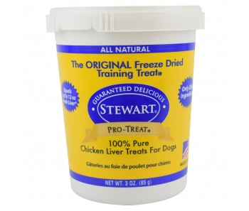 Stewart Pro-Treat® Freeze Dried Chicken Liver Tub - 3 oz