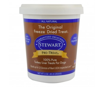 Stewart Pro-Treat® Freeze Dried Turkey Liver Tub - 3 oz