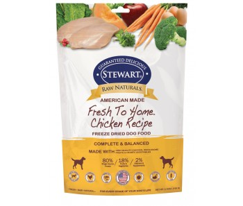 Stewart® Raw Naturals™ Freeze Dried Food Chicken 'Recipe - 3.75 oz