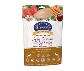 Stewart® Raw Naturals™ Freeze Dried Food Turkey 'Recipe - 3.75 oz