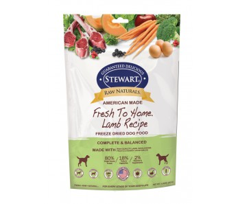 Stewart® Raw Naturals™ Freeze Dried Food Lamb 'Recipe - 3.25 oz