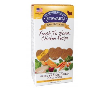 Stewart® Raw Naturals™ Freeze Dried Patties Chicken Recipe - 8 oz