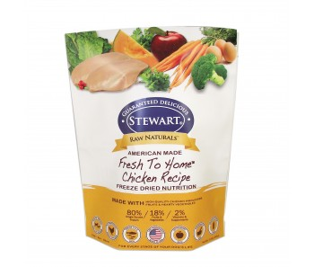 Stewart® Raw Naturals™ Freeze Dried Food Chicken Recipe - 12 oz