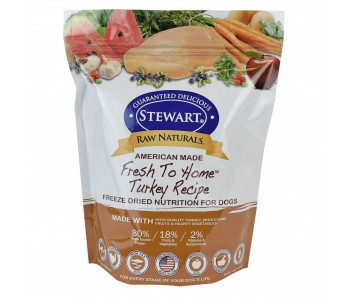 Stewart® Raw Naturals™ Freeze Dried Food Turkey Recipe - 12 oz