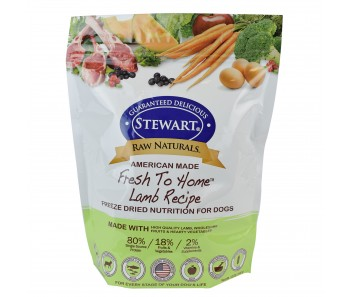 Stewart® Raw Naturals™ Freeze Dried Food Lamb Recipe - 24 oz