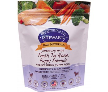 Stewart® Raw Naturals™ Freeze Dried Food Puppy Formula - 12 oz