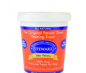 Stewart Pro-Treat® Freeze Dried Pork Liver Tub - 12 oz