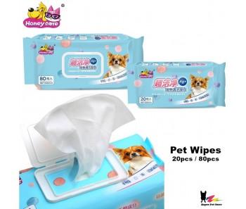 Honeycare Super Clean Pet Wipes 80pc