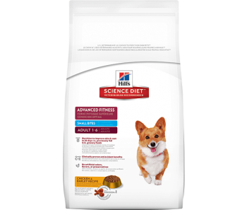 Science Diet Canine Adult Advanced Fitness Small Bites - Available in 2kg, 8kg & 15kg