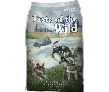 Taste of The Wild Canine® Pacific Stream Puppy with Smoked Salmon - Available in 2kg & 13kg
