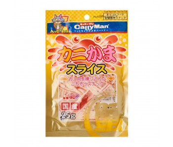 CattyMan Treats Crab Slices - 25g