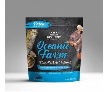 Absolute Holistic Air Dried Blue Mackerel & Lamb Dog Treats 100g