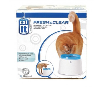 Catit Design Fresh & Clear Cat Drinking Fountain - 2 L (50056)