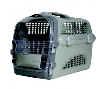 Catit Design Cabrio Cat Multi-Functional Carrier System - Gray/Gray