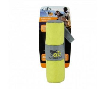 All For Paws - Outdoor Dog Ballistic Crackler - Green
