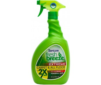 TropiClean Fresh Breeze Stain & Odor 2X Carpet and All Floors 32oz