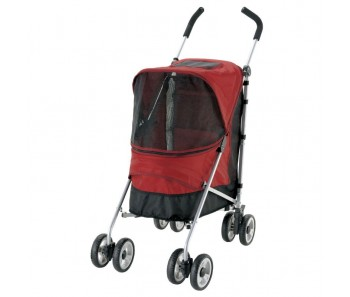 Richell Pet buggy lacotte - Red