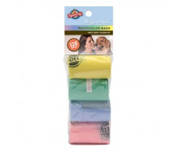Spotty™ Bags-to-Go™ 120ct Refill Value Bags - Multi Colour