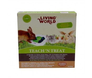 Living World Teach' N Treat Toy