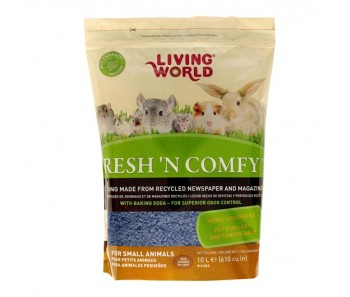 Living World Fresh 'N Comfy Bedding (Blue) - Available in 10 & 20 L