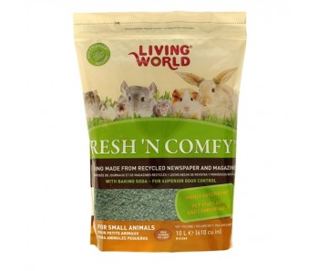 Living World Fresh 'N Comfy Bedding (Green) - Available in 10 & 20 L