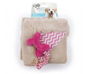 All For Paws - Little Buddy Play Mat Pink