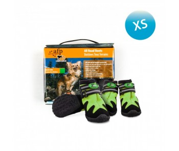 All For Paws - Outdoor Dog Shoes (#1) XS - Available in Green & Orange