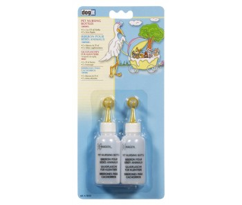 Dogit Pet Nursiing Bottles 2 x 2 oz.