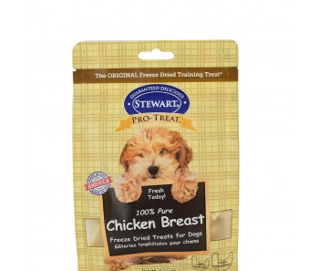 Stewart Pro-Treat® Freeze Dried Chicken Breast Pouch - 11.5 oz