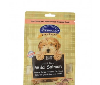 Stewart Pro-Treat® Freeze Dried Wild Salmon Pouch - 8 oz