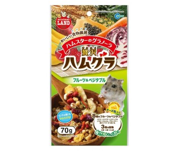 Granola with Fruit & Vegetable for Hamster 20g