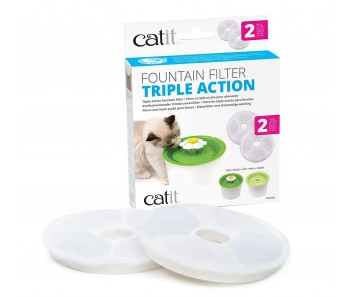 Catit Triple Action Filter – 2 packs